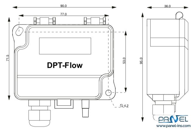 ترانسمیتر جریان DPT-FLOW